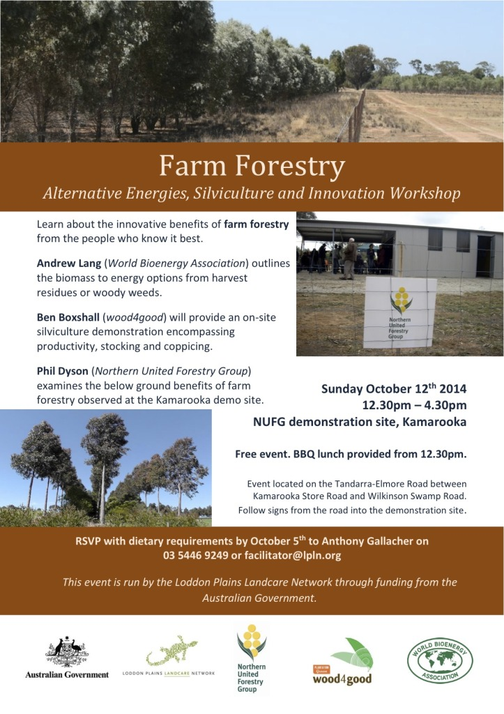 Farm Forestry Workshop Flyer