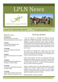 LPLN_newsletter_September2014 cover