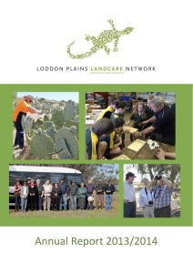 LPLN Annual Report 2013-2014 cover