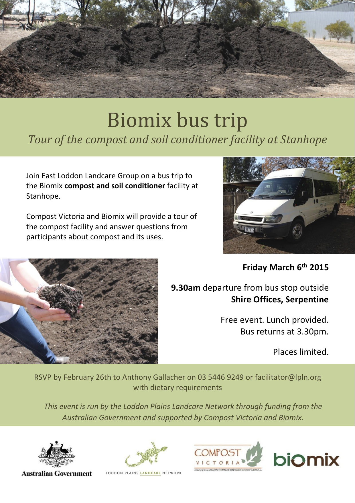 Bus trip Stanhope 2015 Flyer