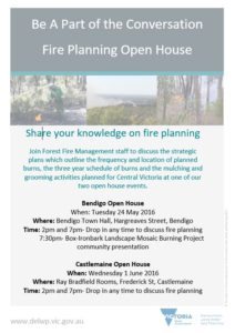 """Fire Operations Plan"" Two Open Houses"