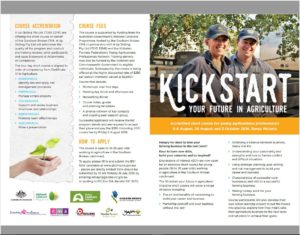 Kick start your future in Ag 1