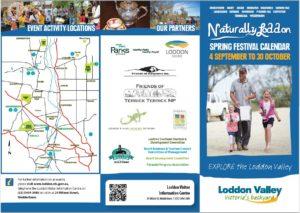 Naturally Loddon Spring Festival Calendar